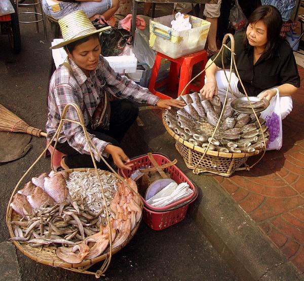 Bangkok Street Vendors by AlanBW