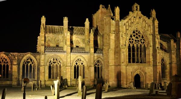 Melrose abbey by shona
