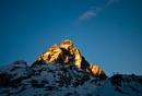 Sun setting on The Matterhorn