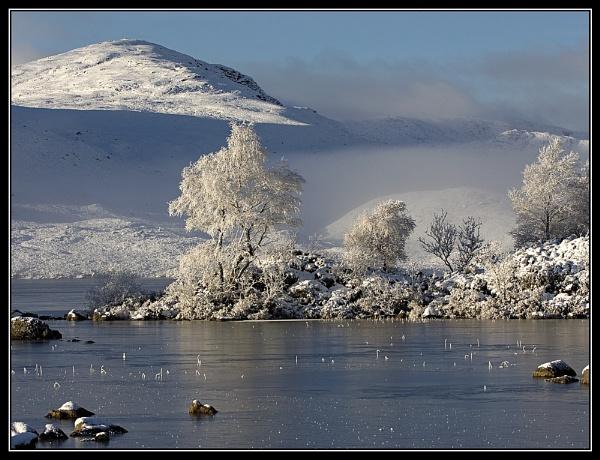 frozen lochan by v8dunc