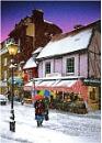 WINTER SCENE - Historic City of Rochester, Kent
