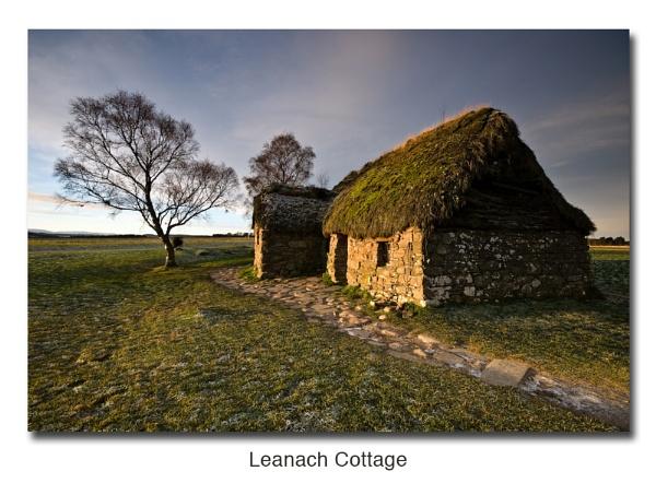 Leanach Cottage by woodrow