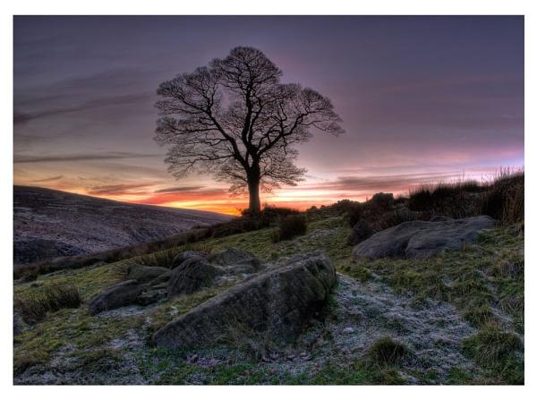 Frosty sunset by AlanTW