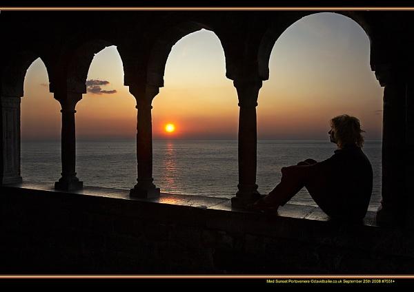 Med Sunset by davidbailie
