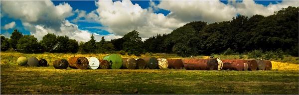 Oil Tank Grave Stones by Hoffy