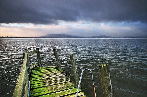 Kinnegar Pier by mcsimeyb