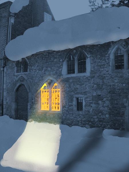 Winter in Kent by adrianj