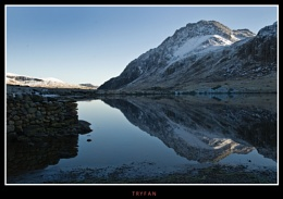 Tryfan Reflections. Snowdonia.