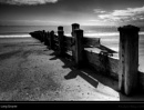 Long Groyne Mono by Glynn