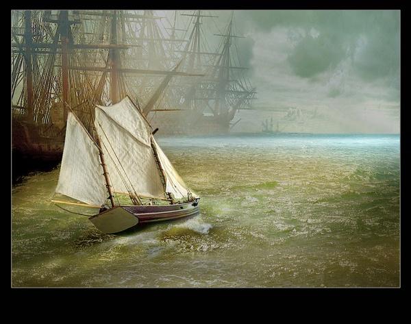 Blue Horizon by CliveA