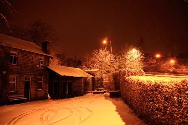 snowy Uppermill by bobsungod