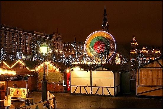 Edinburgh Winterland Market by icemanonline