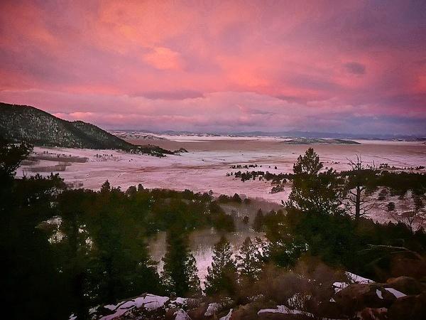 Rocky Mtn Sunrise by KevinFrohlich