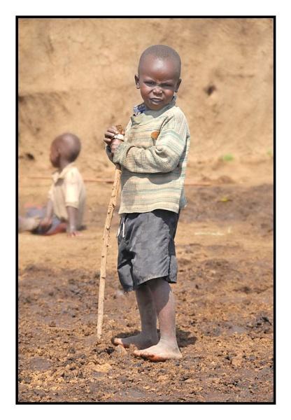 Young Massai by BobA
