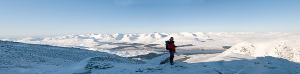 Pete on Beinn Dorain by Richardtyrrelllandscapes