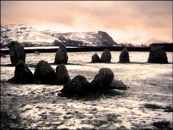 Castlerigg stone circle by Tomaz