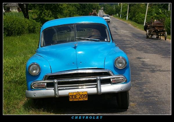 Blue Chevrolet by sergedlm