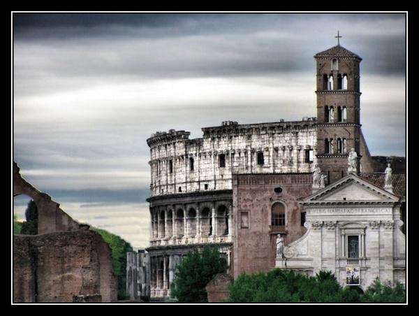 Coliseum view by Swanvio