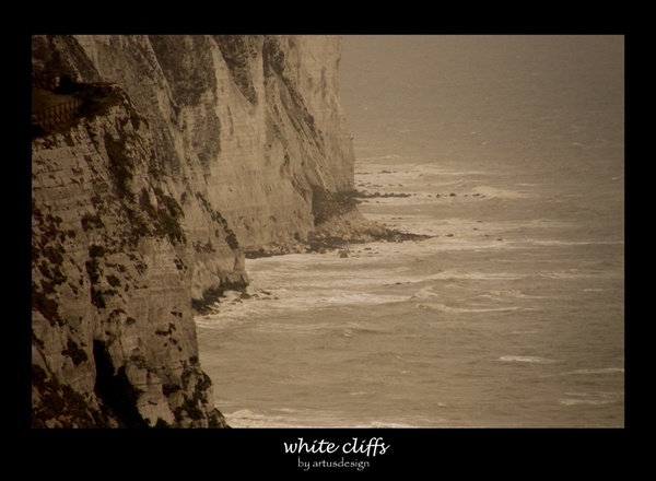 white cliffs by artusdesign