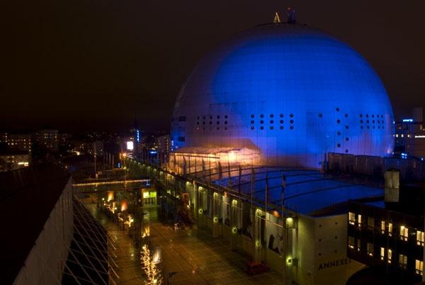 Globen Arena Stockholm by eldroyd