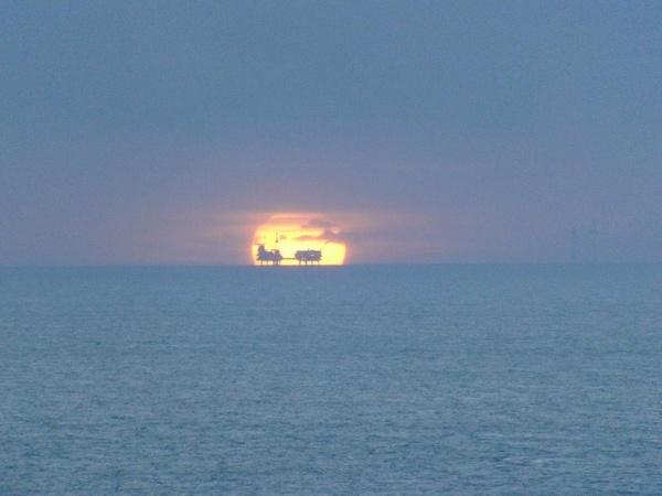 Rigs at Sunrise by jamsa