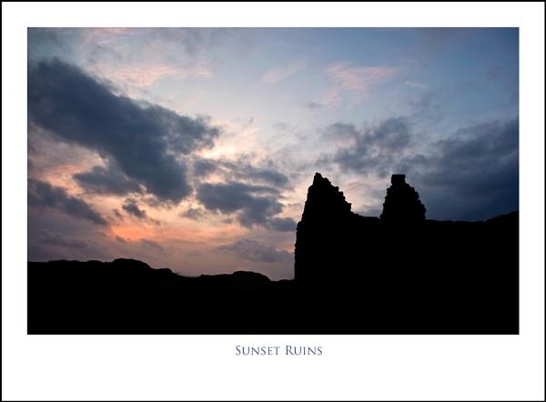 Sunset Ruins... by Scottishlandscapes