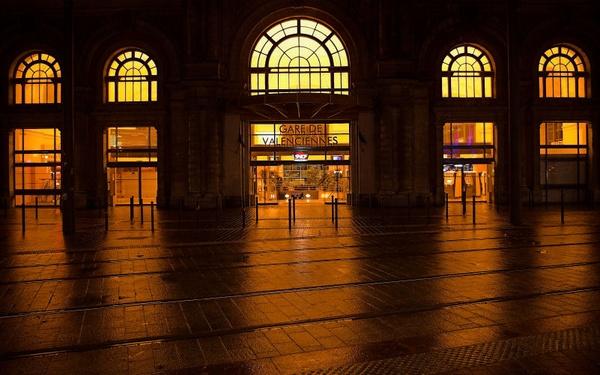 Gare de Valenciennes by Ernest_Godward