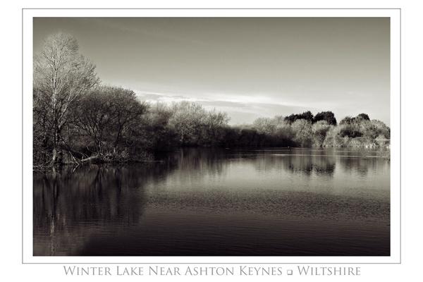 Winter Lake by ferguspatterson