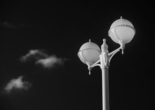 Lamp in Benidorm, Spain by bjarte