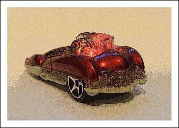 Toy car by willshot