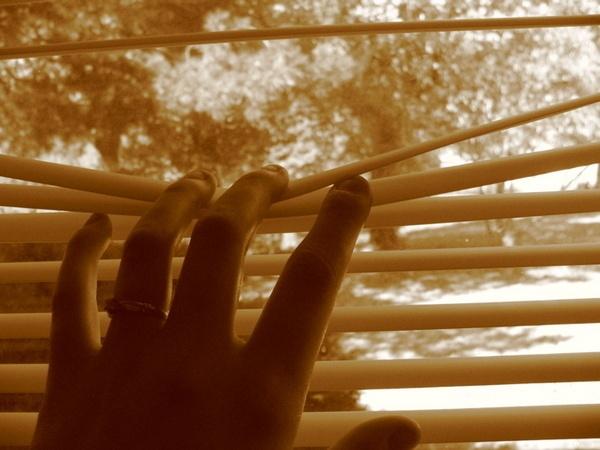 Peeking by dreamflower