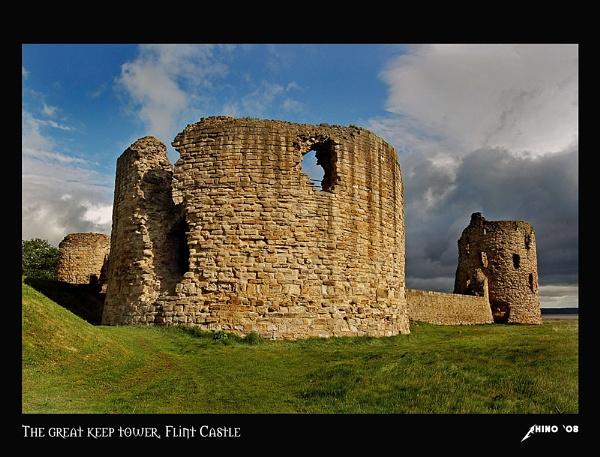 The keep tower by Rhino