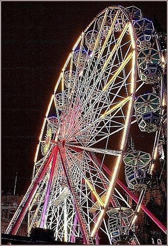 Big wheel in Edinburgh by icemanonline