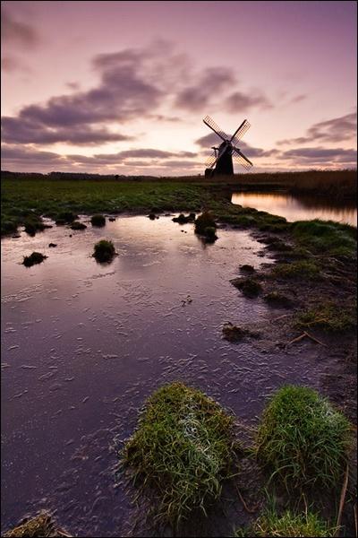 Herringfleet Dawn by brm