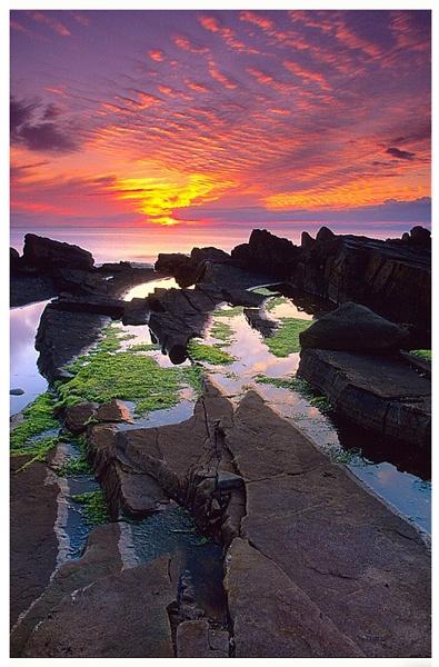 Hopeman Sunset by tg