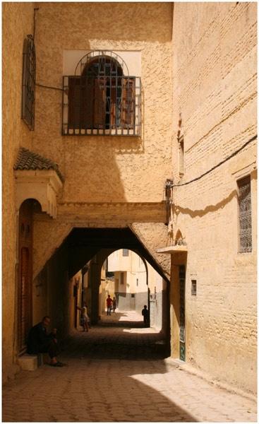 Street in Morocco by janestopforth