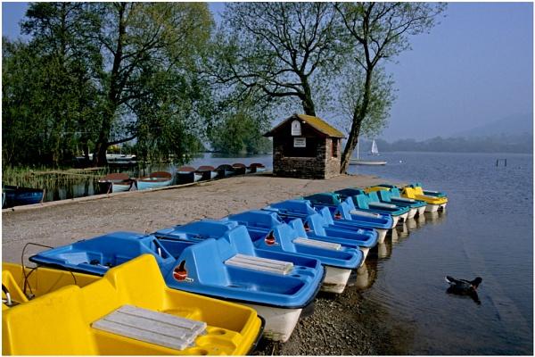 At Llangorse Lake. by Badgerfred