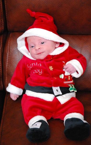 Baby Santa by EMJAY