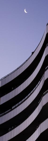 Architecture Moon by MartinAgius