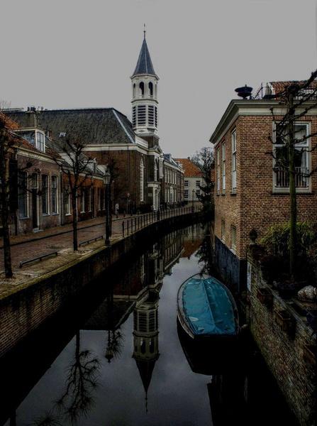 Reflection by Dick van Breda