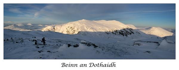 Beinn an Dothaidh by trekpete