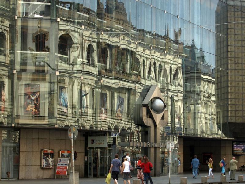 Prague reflections 1