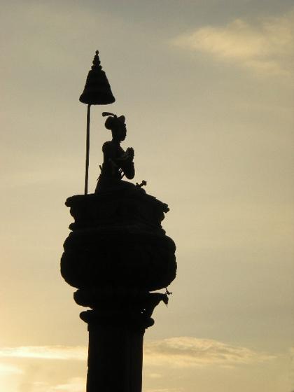 hindu god by Flashlibro