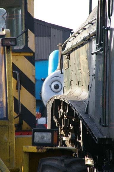 I spy Thomas by PaulBeeTee