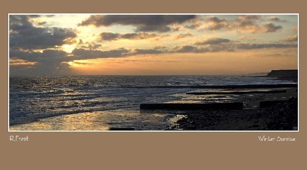 Winter Sunrise by RobertH