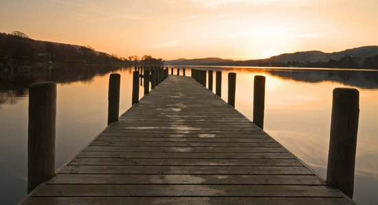Coniston jetty by RosePhoto