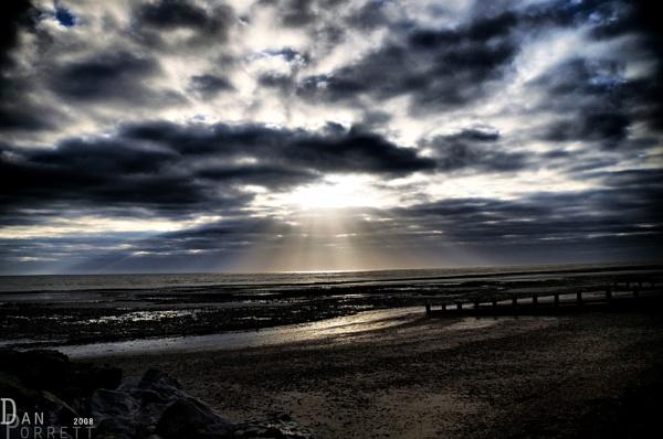 on the beach by DanielDCP
