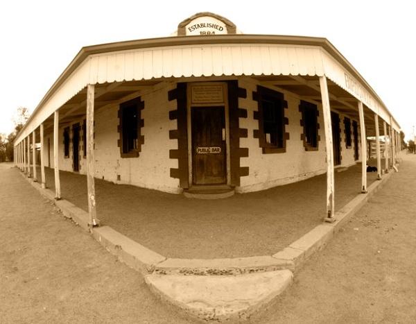 Birdsville Pub Outback Australia by JudyHoff