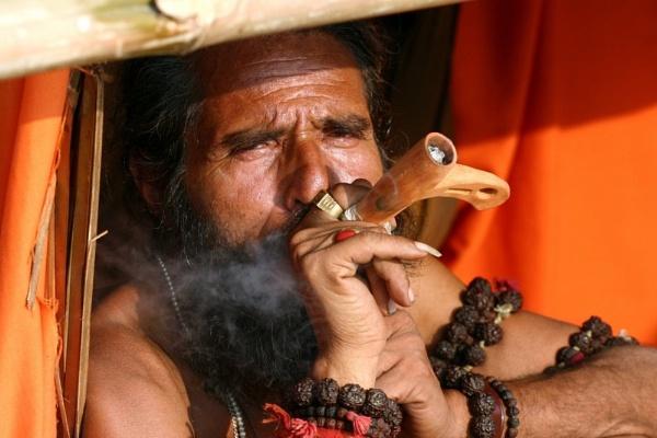 An Indian pilgrim by anindya