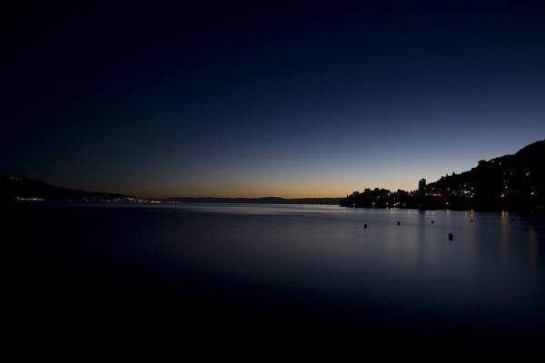 Sunset by Lake Geneva by cosmic_spunk